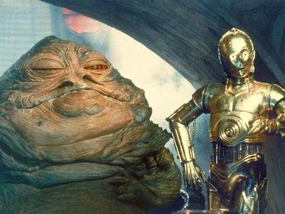 c3po y Jabba