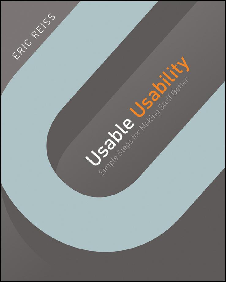 Portada de Usable usability, de Eric Reiss