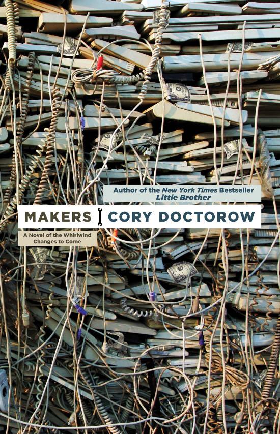 Portada de Makers, de Cory Doctorow