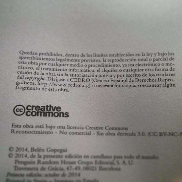¿En qué quedamos? ¿CEDRO o Creative Commons?