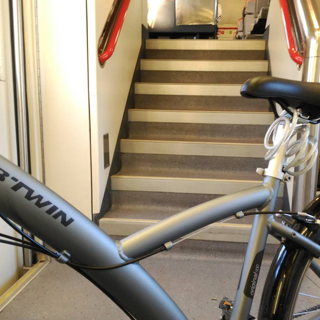 Con bici en el tren II