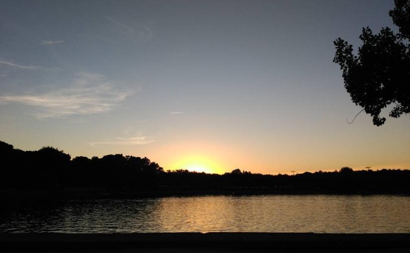 Después de tres años en Instagram, ya tocaba un sunset en mi sitio favorito en Madrid