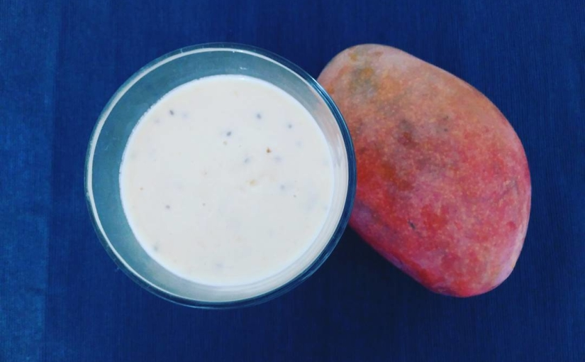 Sacándole el jugo a la temporada de mango de la Axarquía con batidos, perdón smoothies, de mango